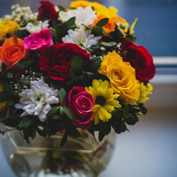kwiaty na Dzien Kobiet